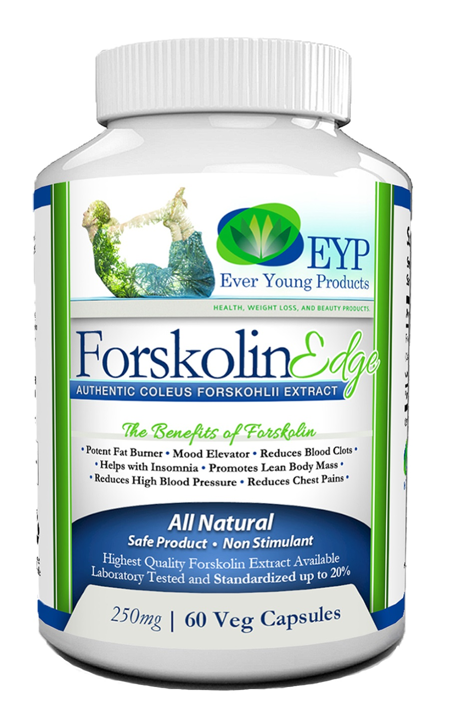 Forskolin Bottle Front 3D Website