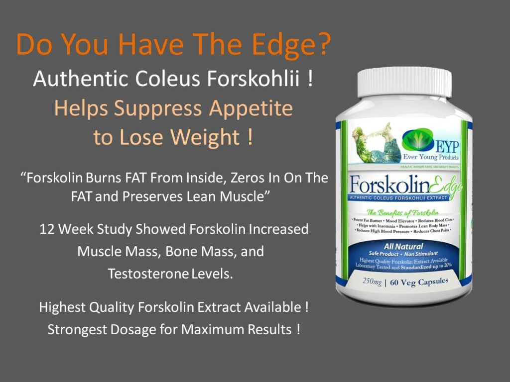 Forskolin Edge