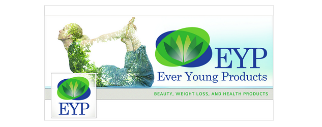 Ever Young Products Website Header